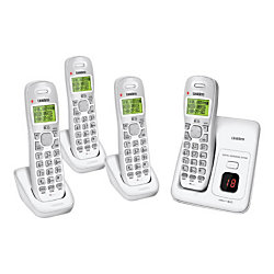 Uniden 4 Handset Cordless Phone System with Answering
