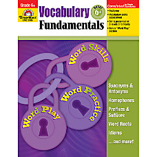 Evan Moor Vocabulary Fundamentals Grade 6