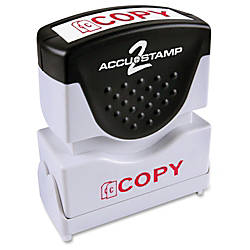COSCO 1 Color Red Shutter Stamp