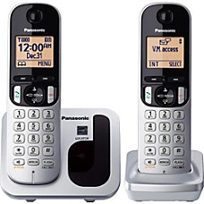 Panasonic KX TGC212S Expandable Digital Cordless