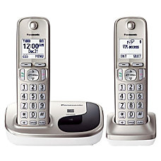 Panasonic KX TGD212N Expandable Digital Cordless