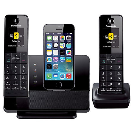 panasonic kx prl262b link2cell dock style bluetooth cellular convergence solution with 2. Black Bedroom Furniture Sets. Home Design Ideas