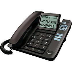 RCA 1113 1BKGA Standard Phone Black