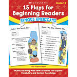 Scholastic 15 Plays For Beginning Readers