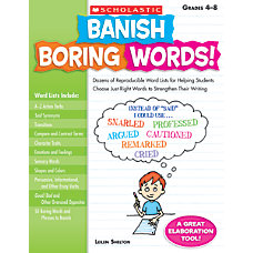 Scholastic Banish Boring Words