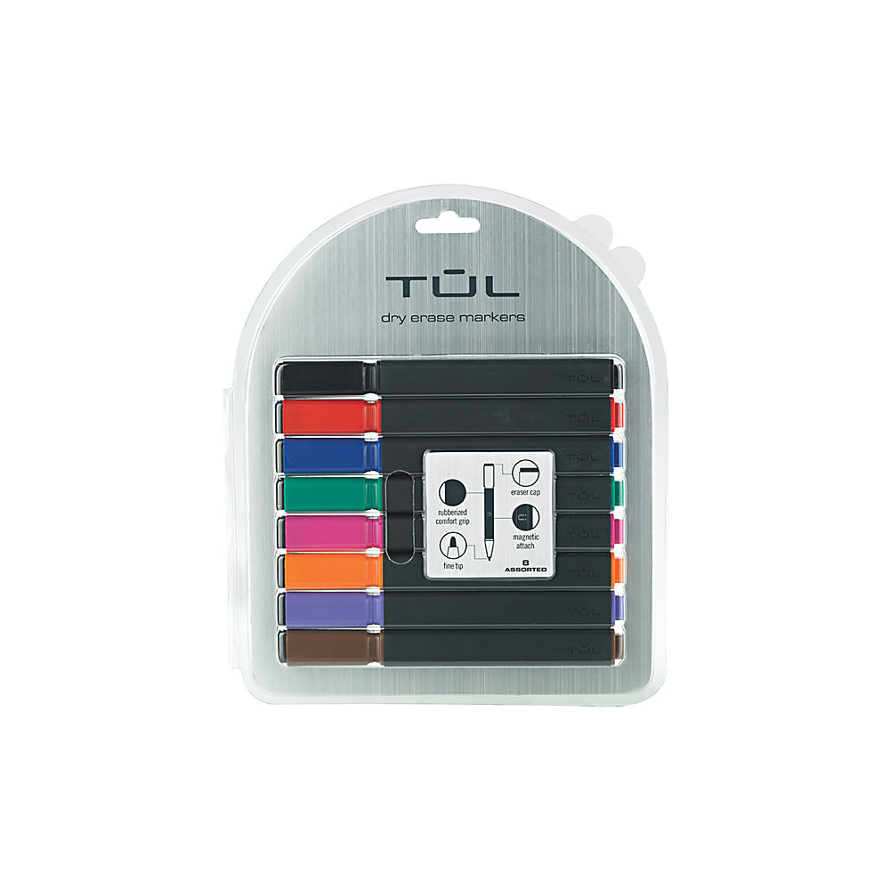 Fine Tipped Dry Erase Markers Tul Fine Tip Dry Erase Markers