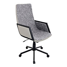 Lumisource Governor Office Chair TanBlack