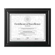 DAX High Gloss Black Document Frames