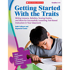 Scholastic Getting Started With The Traits