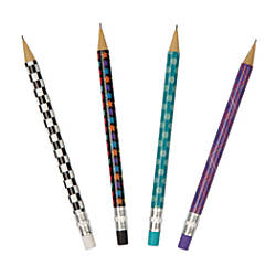 FORAY® Mechanical Pencils, 0.7 mm, Assorted Barrel Colors, Pack Of 20