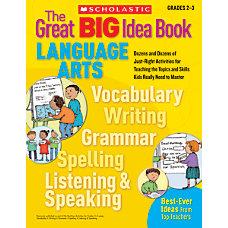 Scholastic Great BIG Idea Book Language