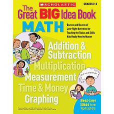 Scholastic Great BIG Idea Book Math