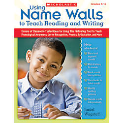 Scholastic Using Name Walls To Teach