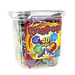 Ring Pops Candy 05 Oz Assorted