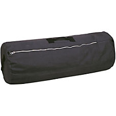 Stansport Cotton Canvas Duffel Bag Black
