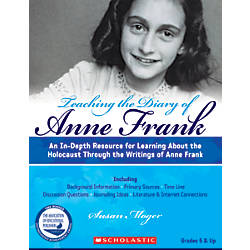 Scholastic Teaching The Diary Of Anne