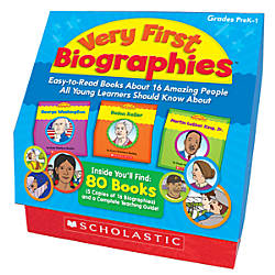 Scholastic Very First Biographies
