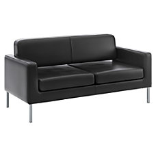 basyx by HON Contemporary Sofa Black