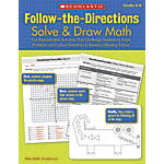 Scholastic Follow The Directions Solve Draw