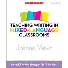 Scholastic Teaching Writing In Mixed Language