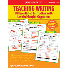 Scholastic Teaching Writing Differentiated Instruction With