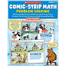 Scholastic Comic Strip Math Problem Solving