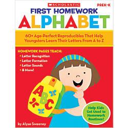 Scholastic First Homework Alphabet