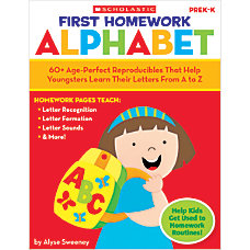 Scholastic First Homework Alphabet