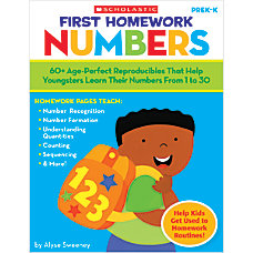 Scholastic First Homework Numbers