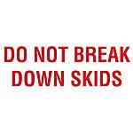 Preprinted Shipping Labels Do Not Break