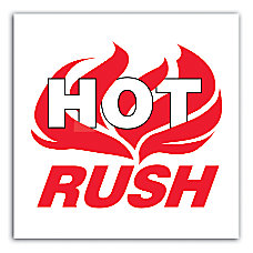 Preprinted Shipping Labels Hot Rush 4