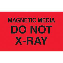Preprinted Special Handling Labels Magnetic Media