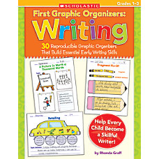 Scholastic First Graphic Organizers Writing