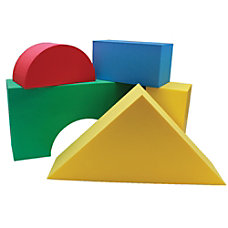 Edushape Giant Blocks Assorted Colors Grades