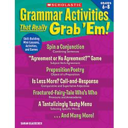 Scholastic Grammar Activities That Really Grab