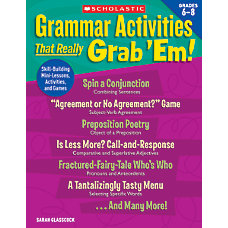 Scholastic Grammar Activities That Really Grab