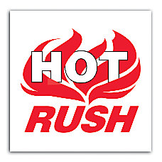 Preprinted Shipping Labels Hot Rush 6