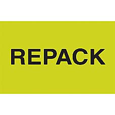 Preprinted Special Handling Labels Repack 5