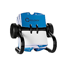 Rolodex Open Metal Single Rotary File