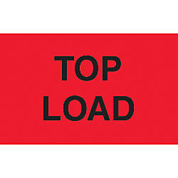 Preprinted Special Handling Labels Top Load