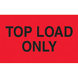 Preprinted Special Handling Labels Top Load