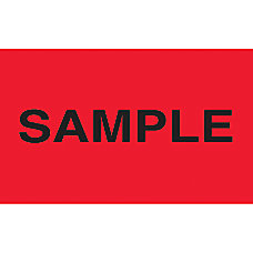 Preprinted Special Handling Labels Sample 5