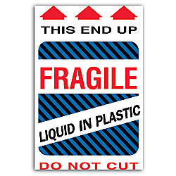 Tape Logic Preprinted Shipping Labels This