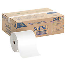 Georgia Pacific SofPull 40percent Recycled White