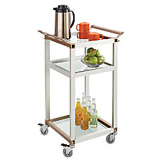 Safco 3 Shelf Refreshment Cart Small
