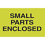 Preprinted Special Handling Labels Small Parts
