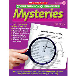 Scholastic Comprehension Cliffhangers Mysteries