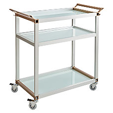 Safco 3 Shelf Refreshment Cart Large