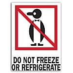 Preprinted International Safe Handling Labels Do