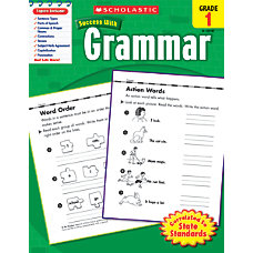Scholastic Success With Grammar Workbook Grade